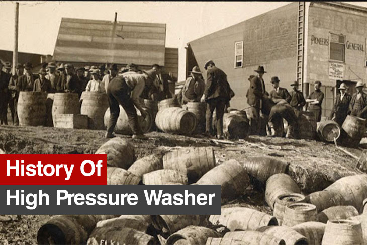 History of Power tools -HighPressure Washers