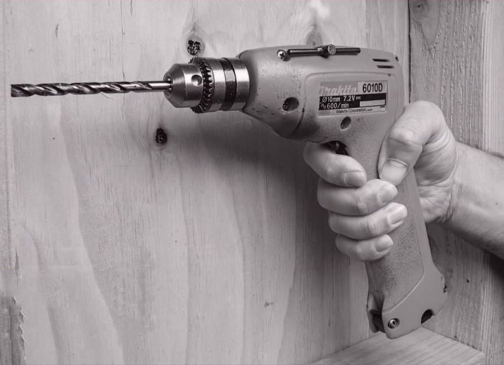 first cordless drill created