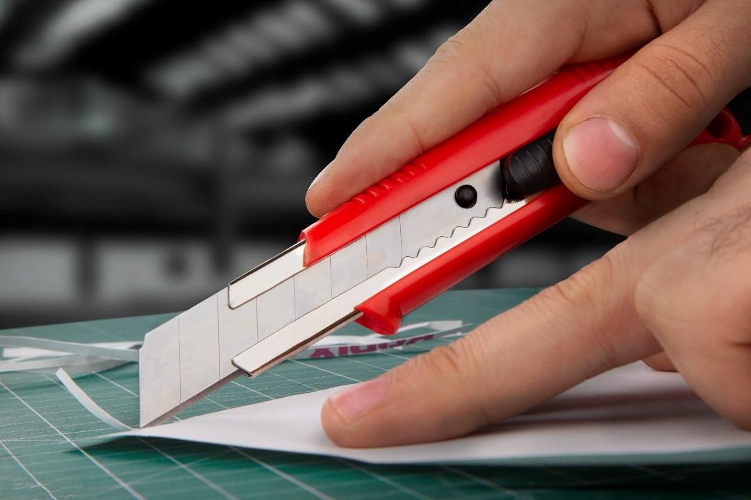 cutting knife ronix