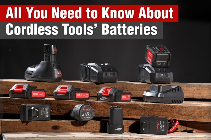 Cordless Tools Batteries-ronix-tools
