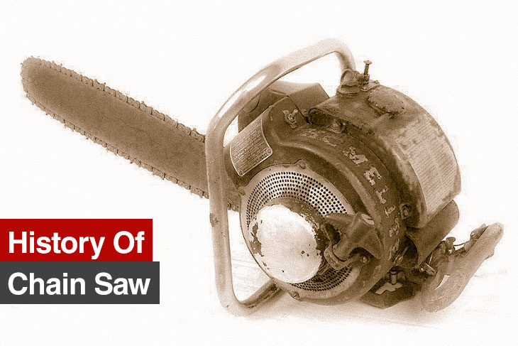 History of chain saw