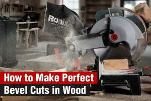 How to make perfect bevel cuts in wood