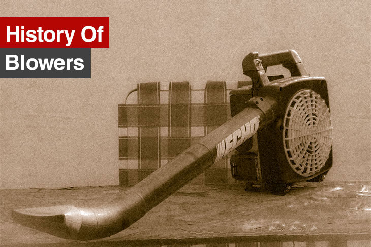 history of blower