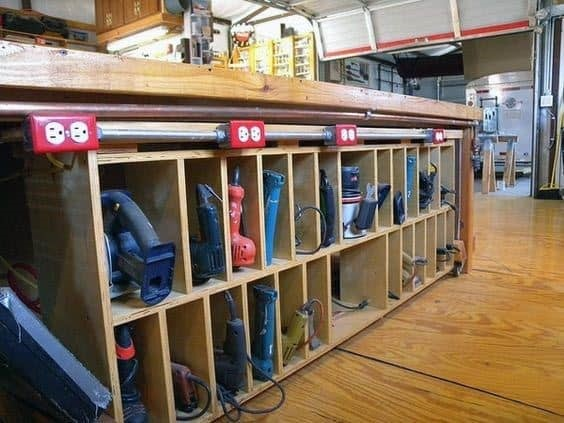 organize your tool shop