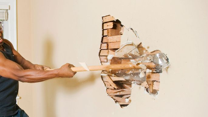 Use of Hand Tools in Demolition