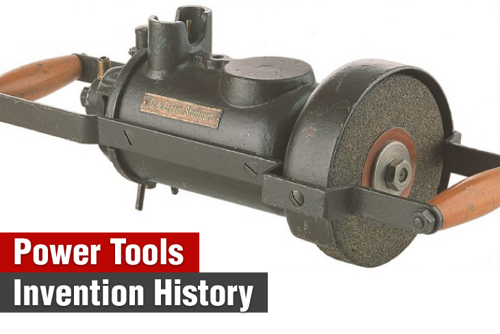 ronix-tools-Power-tools-invention-history
