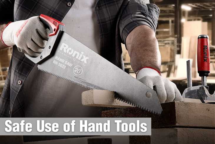 Safe use of hand tools