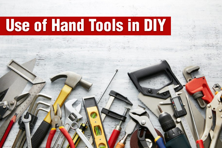 Use of hand tools in DIY projects