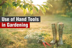 use of hand tools in gardening