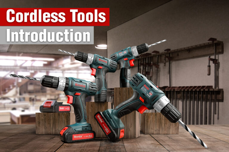 Cordless tools introduction-ronix
