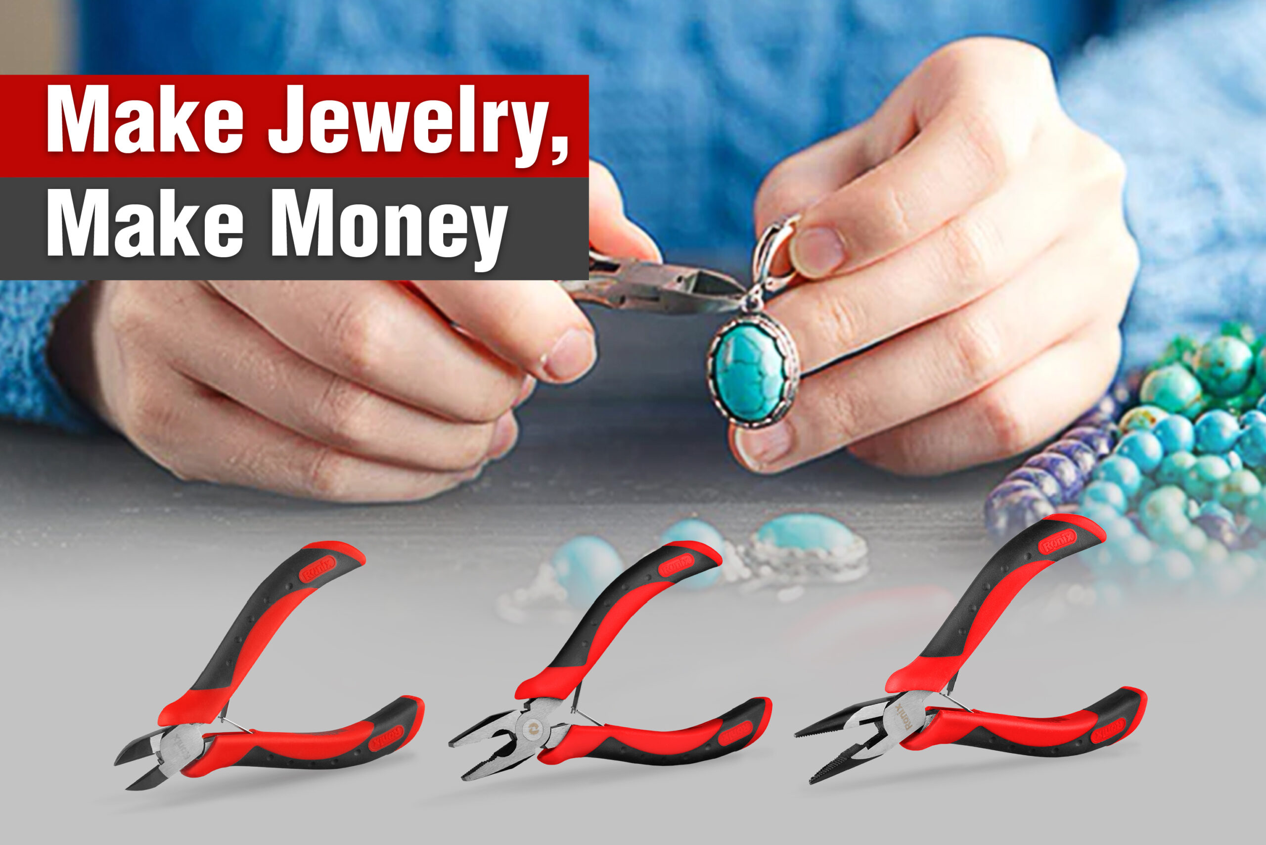 Make money by making jewelry-ronix-tools