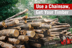 Use a Chainsaw, Get Your Timber