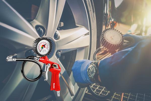 Adjust-tire-pressure