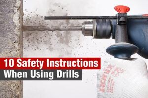 Safety-Instructions-When-Using-Drills-ronix