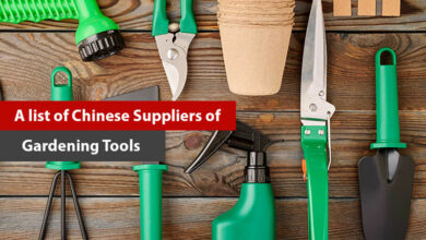 A list of Chinese Suppliers of Gardening Tools