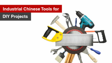 Industrial Chinese Tools for DIY Projects