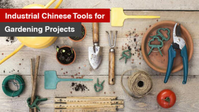 Industrial Chinese Tools for Gardening Projects