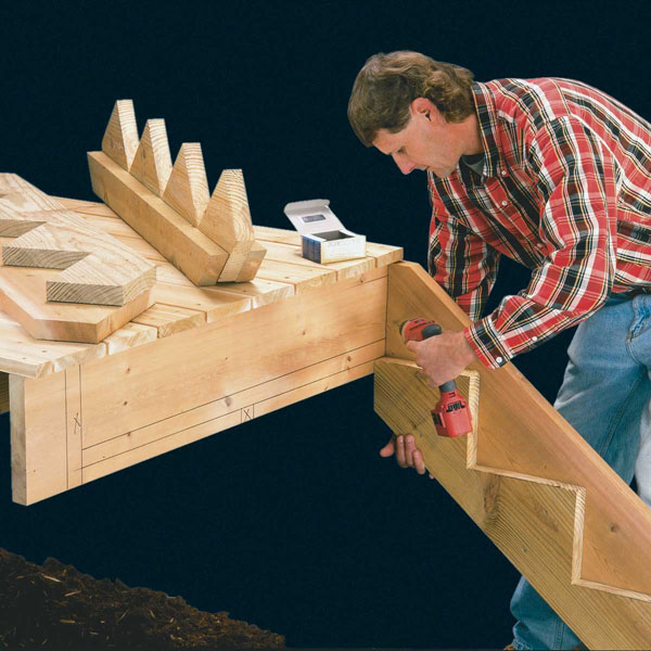Connect the Skirt Boards to the Rim Joist