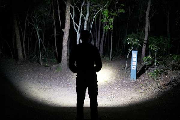 NU25 in a dark place Best Headlamps
