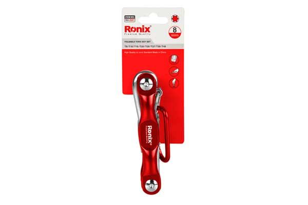 RH-2041 Aluminum Folding Torque Key Set