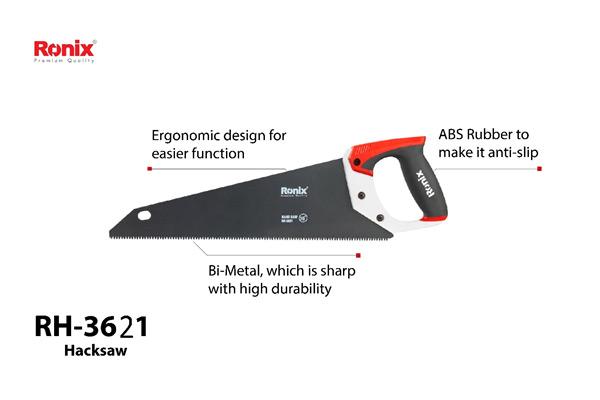 Handsaw blade's parts