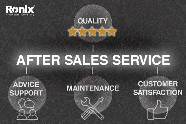 ronix after sales service