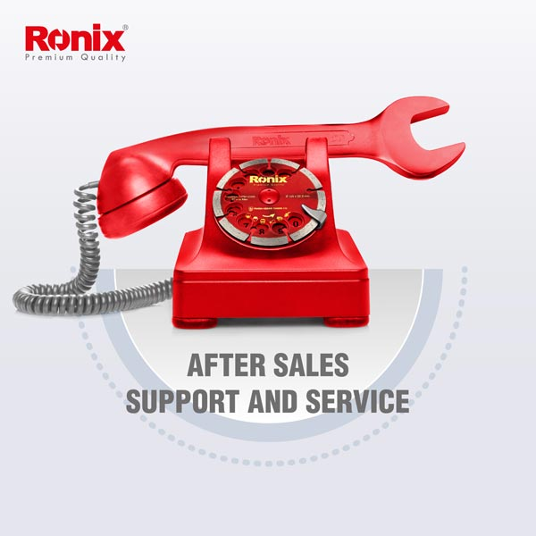 ronix after sales support