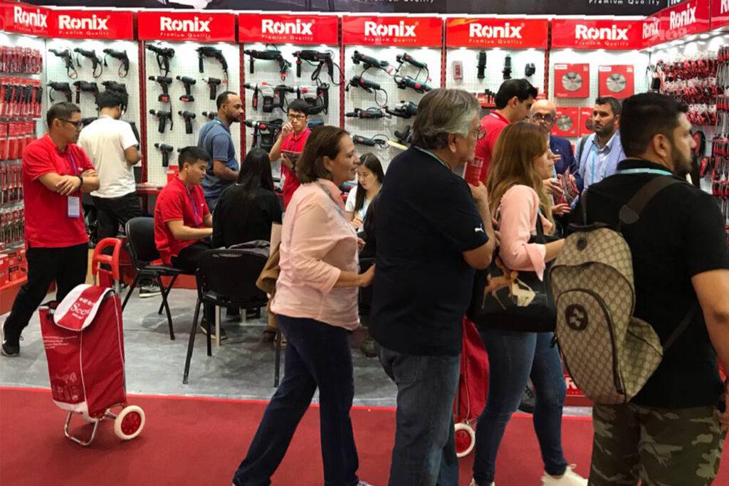 Ronix Participates in Canton's Tools Exhibition