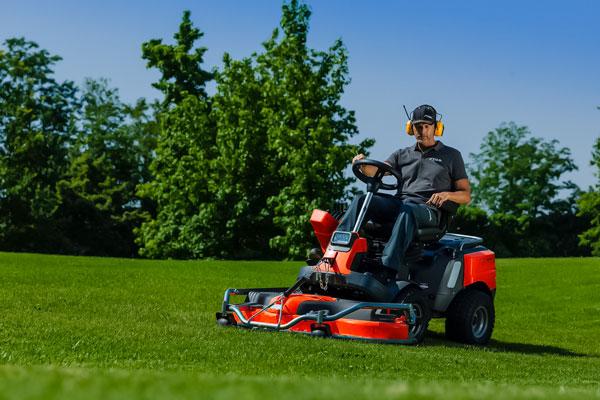 A Rugged Lawnmower