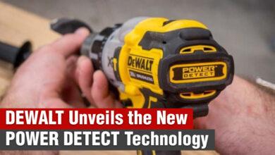 DEWALT Unveils the New POWER DETECT Technology
