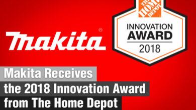 Makita Receives the 2018 Innovation Award