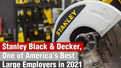 Forbes has named Stanley Black & Decker as one of America's Best Large Employers in 2021