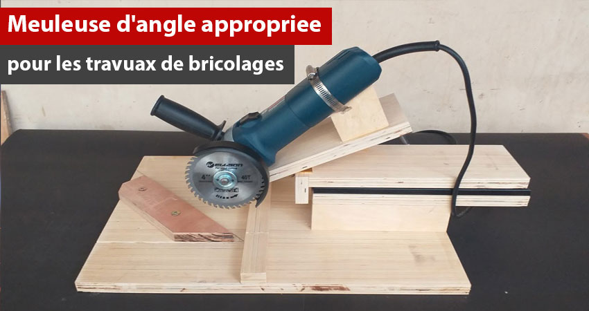 Aussi nous considérons analyser ce sujet : Meuleuse d'angle appropriée pour les travaux de bricolage.